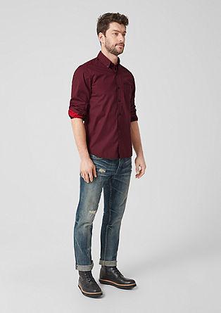 Regular: chemise à motif minimaliste de s.Oliver