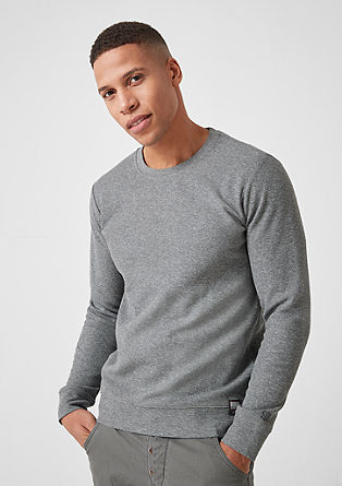 Long sleeve top in textured jersey from s.Oliver