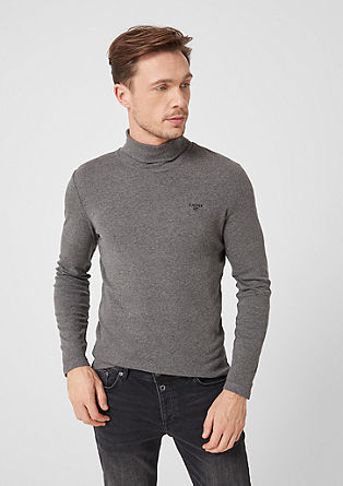 Slim: longsleeve met turtleneck