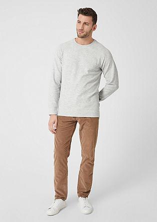 Sweat-shirt de texture rayée de s.Oliver