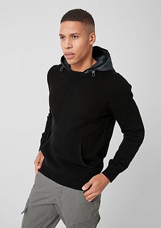 Pullover mit Outdoor-Details