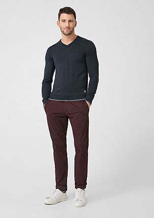 Knitted jumper in merino wool from s.Oliver