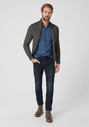 Close Slim: coloured jeans from s.Oliver