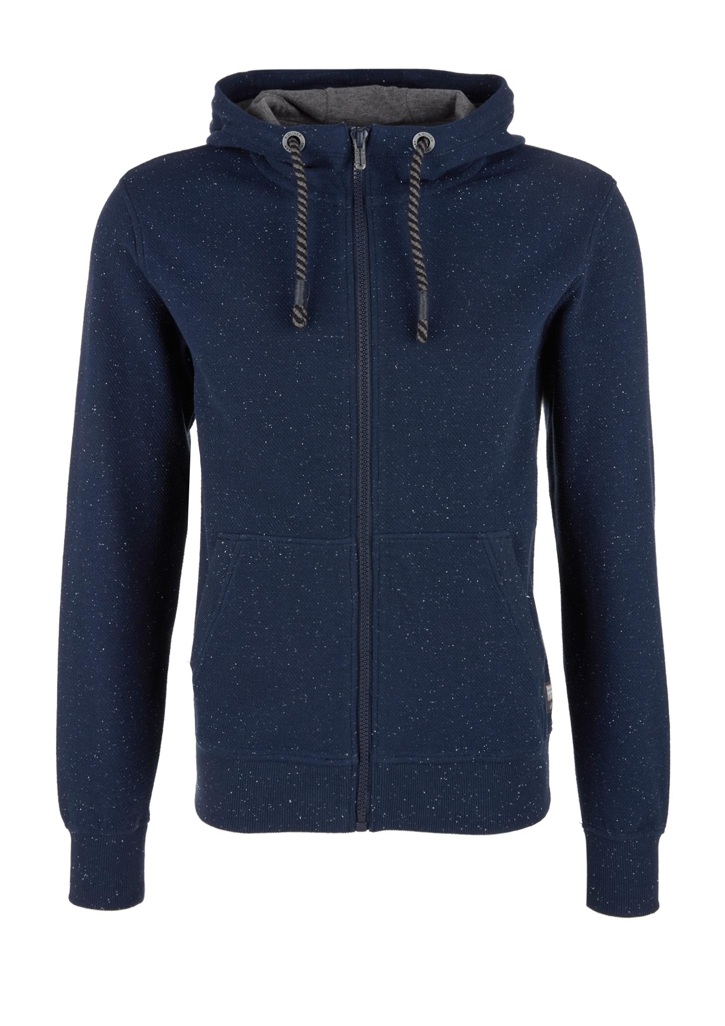 Sweatjacke | Bekleidung > Sweatshirts & -jacken > Sweatjacken | Blau | Oberstoff: 84% baumwolle -  13% polyester -  3% elasthan| manschette/bund: 89% baumwolle -  7% polyester -  4% elasthan | s.Oliver