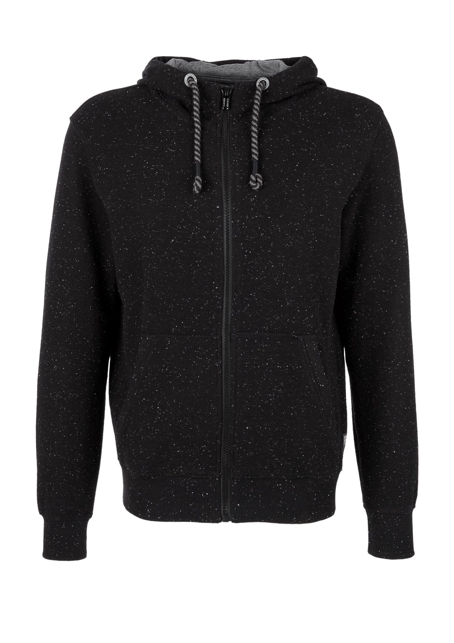 Sweatjacke   Bekleidung > Sweatshirts & -jacken > Sweatjacken   Grau/schwarz   Oberstoff: 84% baumwolle -  13% polyester -  3% elasthan  manschette/bund: 89% baumwolle -  7% polyester -  4% elasthan   s.Oliver