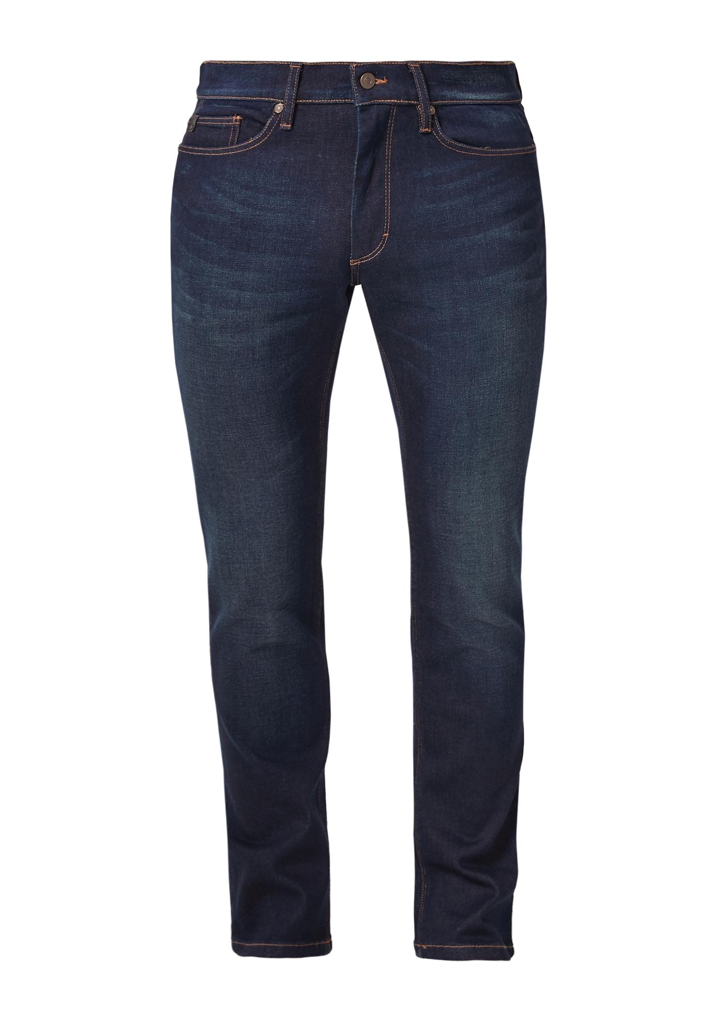 Stretchjeans | Bekleidung > Jeans > Sonstige Jeans | Blau | Oberstoff: 99% baumwolle -  1% elasthan| futter: 65% polyester -  35% baumwolle| enthält nichttextile teile tierischen ursprungs (lederpatch) | s.Oliver