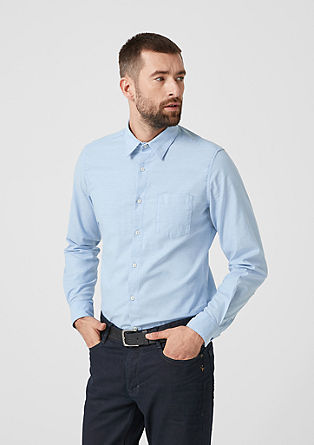 Slim: Stretch shirt from s.Oliver