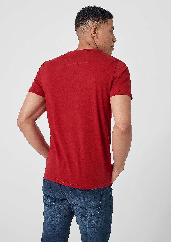 s.Oliver - T-Shirt mit Label-Print - 3