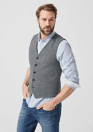 Mixed pattern waistcoat from s.Oliver