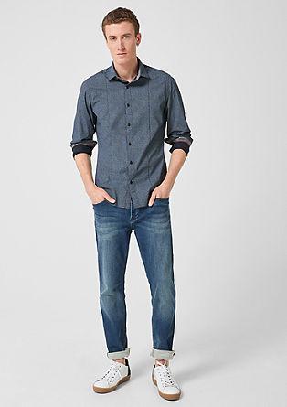 Slim: Gemustertes Hemd