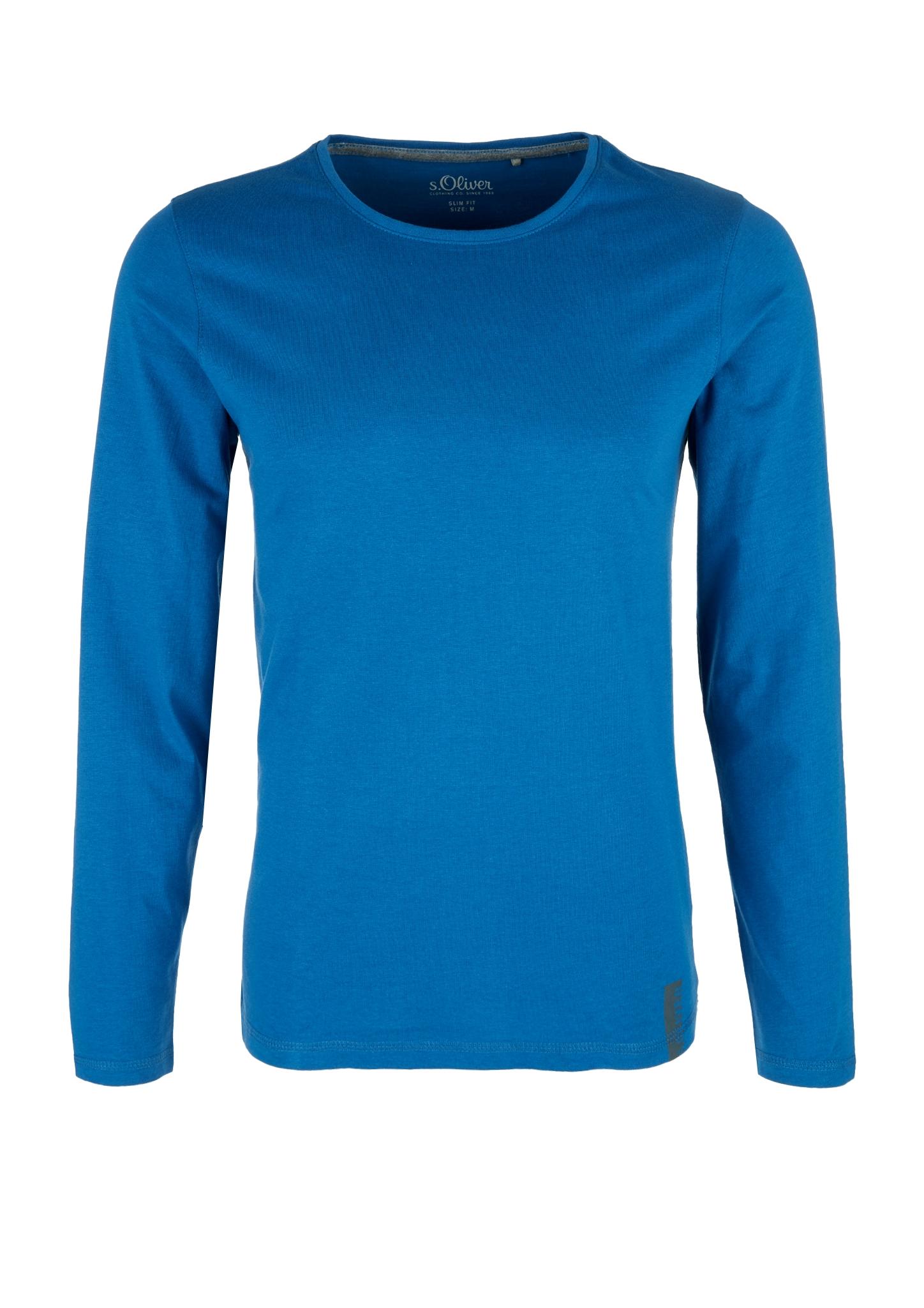 Langarmshirt   Bekleidung > Shirts > Langarm Shirts   Blau   100% baumwolle   s.Oliver