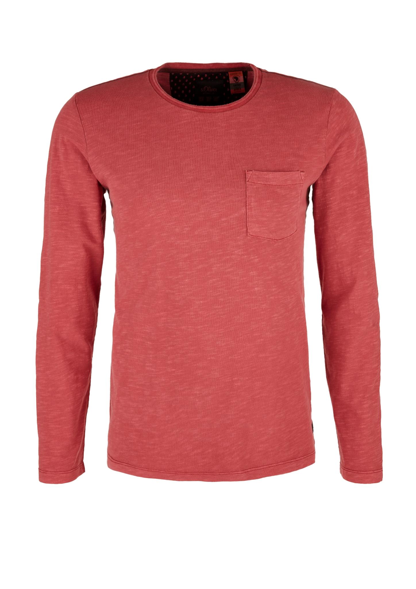 Langarmshirt | Bekleidung > Shirts > Langarm Shirts | Rot | 100% baumwolle | s.Oliver