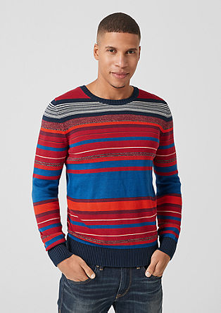 Jumper with a striped pattern from s.Oliver