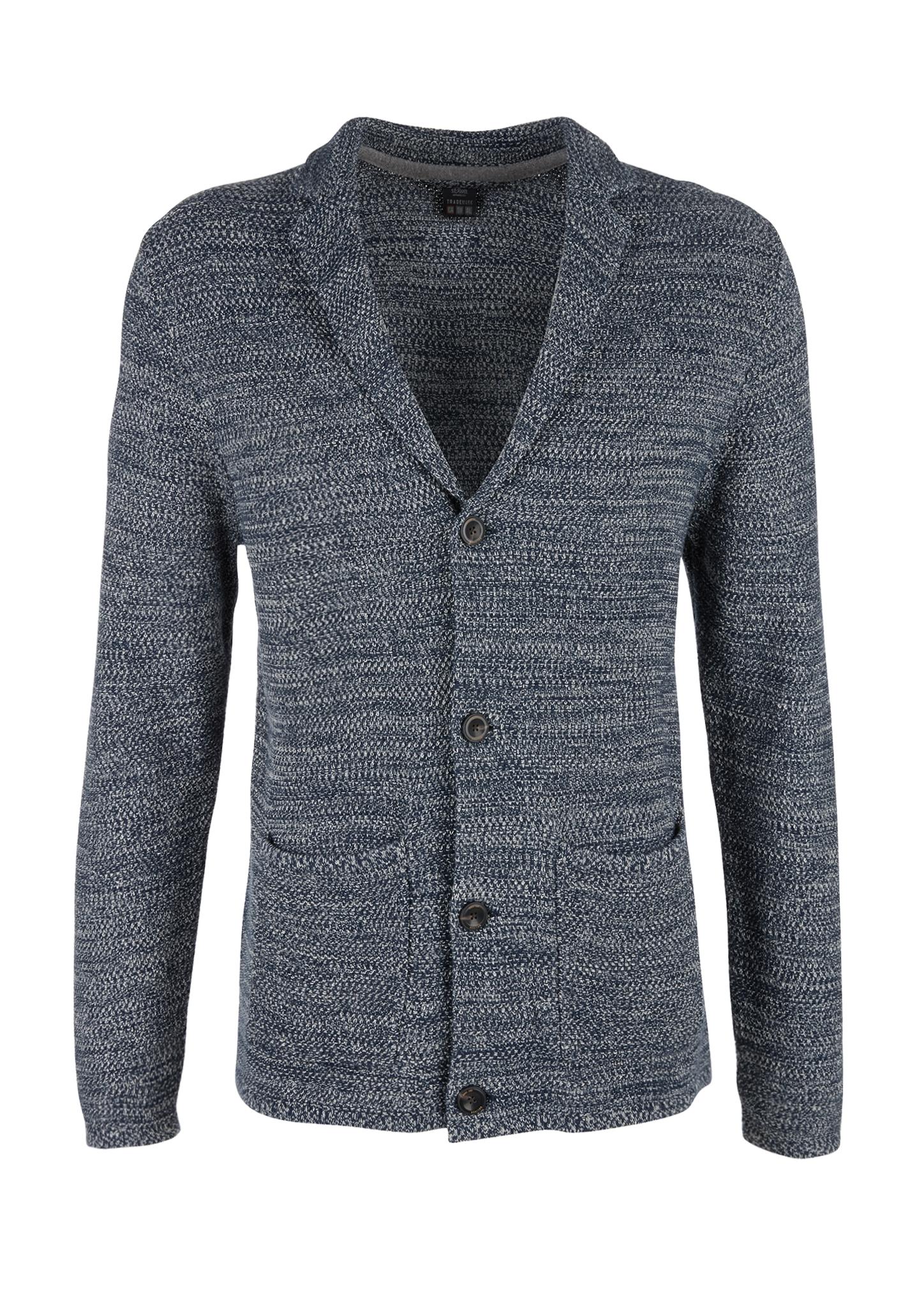 Strickjacke | Bekleidung > Strickjacken & Cardigans > Strickjacken | Blau | 100% baumwolle | s.Oliver