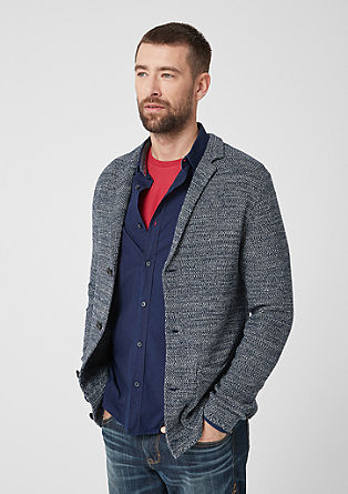 Cardigan with a lapel  from s.Oliver