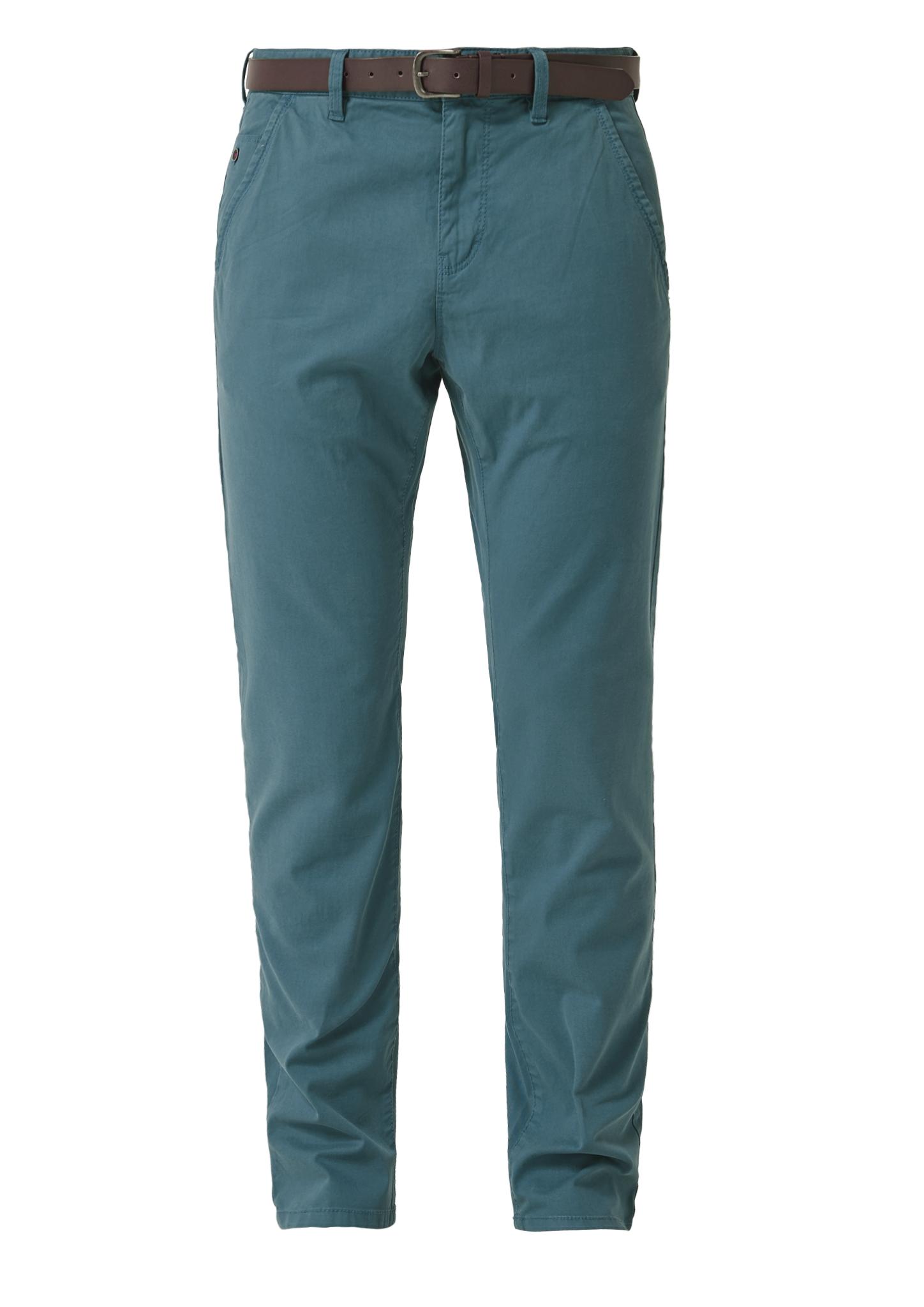 Chino | Bekleidung > Hosen | Blau | Oberstoff: 98% baumwolle -  2% elasthan| futter: 100% baumwolle | s.Oliver