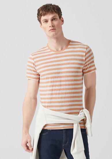 Gestreiftes Melange-Shirt
