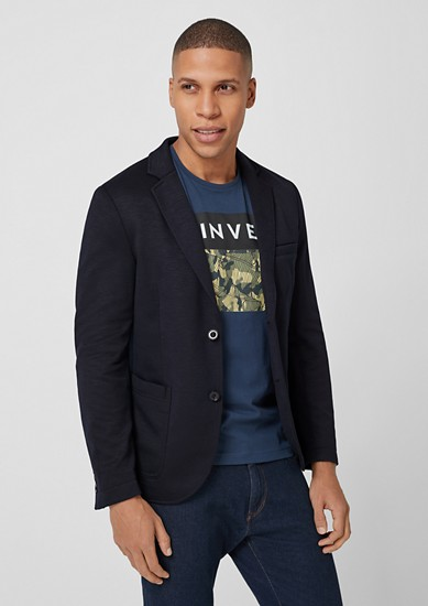 Sporty, casual tailored jacket from s.Oliver
