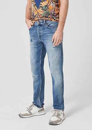 Tubx Regular: Jeans im Used-Look