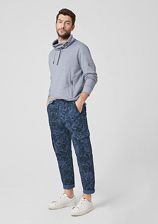 Tubx regular: chino met print