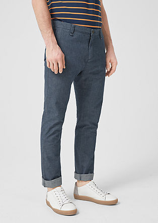Sneck Slim: twill chinos from s.Oliver