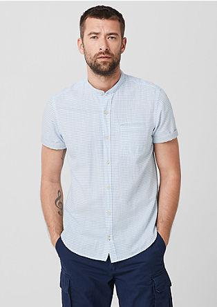 Hemd im Streifen-Look