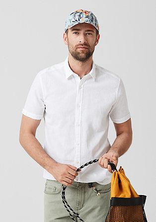 Regular: linen blend shirt from s.Oliver