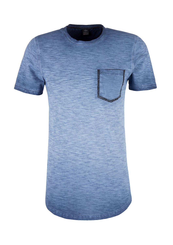 bbcbf901733 Slim: shirt van slubgaren met een borstzak bestellen | s.Oliver Online Shop
