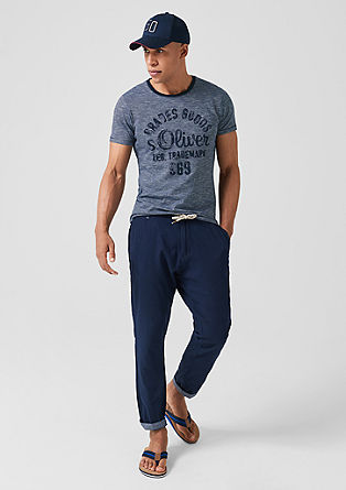 Jerseyshirt im Vintage-Look