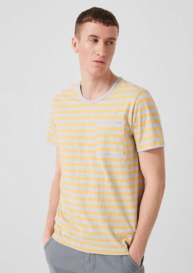 Geringeltes Jerseyshirt