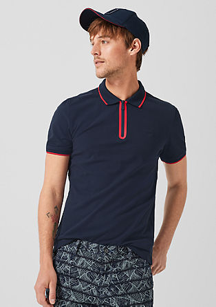 d60165a50a Polo shirt with a zip from s.Oliver