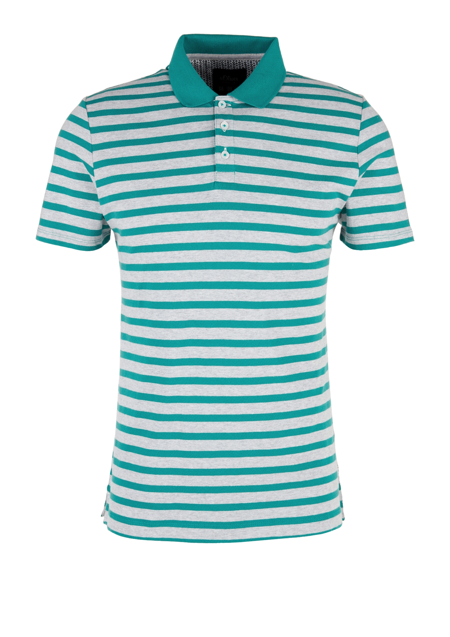 Poloshirt | Bekleidung > Polo Shirts | Grau | 100% baumwolle | s.Oliver