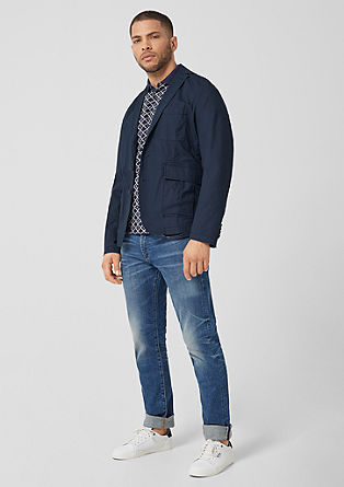 Casual tailored jacket from s.Oliver