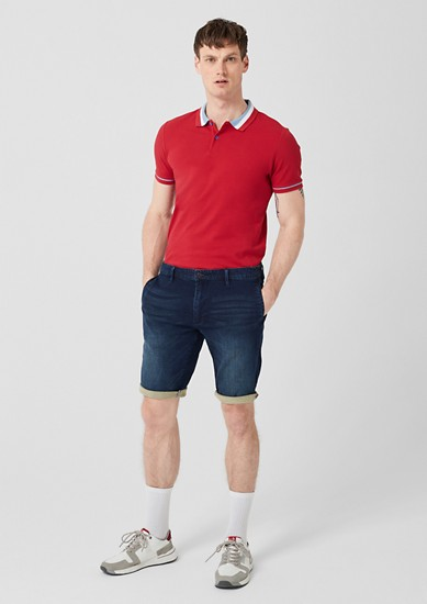 Tubx Regular: Bermuda hlače iz jeansa