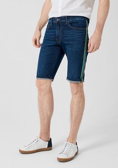Tubx Regular: Denim Bermuda shorts from s.Oliver