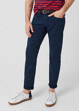 Close Slim: stretch twill trousers from s.Oliver