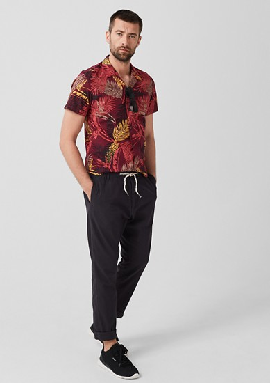 Shirt with a summery print from s.Oliver