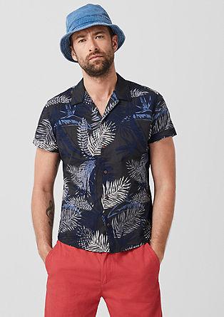 Overhemd met zomerse print