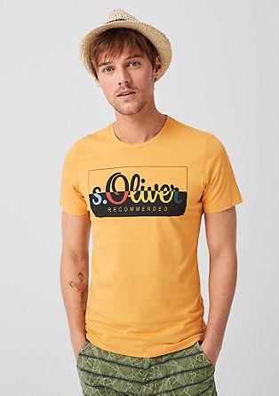 žerzejové tričko snatištěným logem