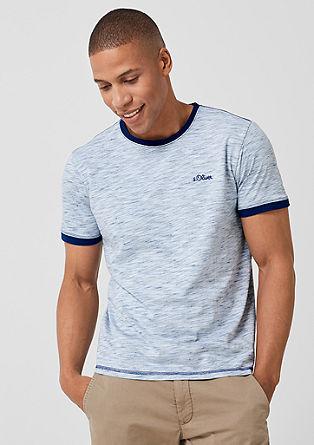 T-Shirt mit Inside-Out-Effekt