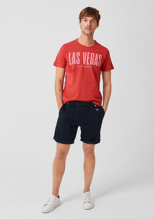 Jersey shirt met tekst