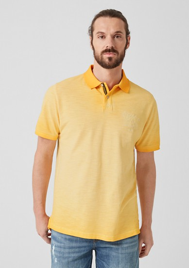 Polo shirt with colour graduation from s.Oliver