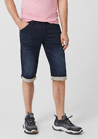 Tubx Regular: Denim Bermudas from s.Oliver