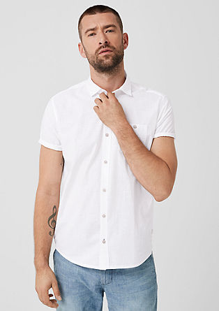 Regular: short sleeve cotton shirt from s.Oliver