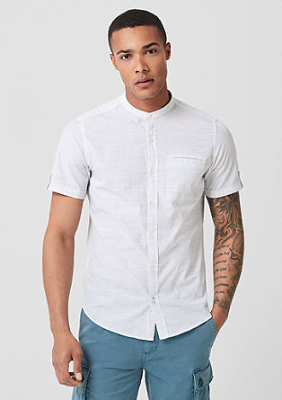 Slim: striped short sleeve shirt from s.Oliver