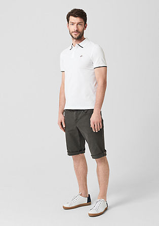 Slim: polo shirt with surfer embroidery from s.Oliver