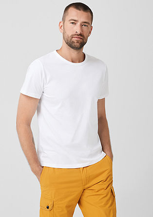 Basic cotton jersey top from s.Oliver