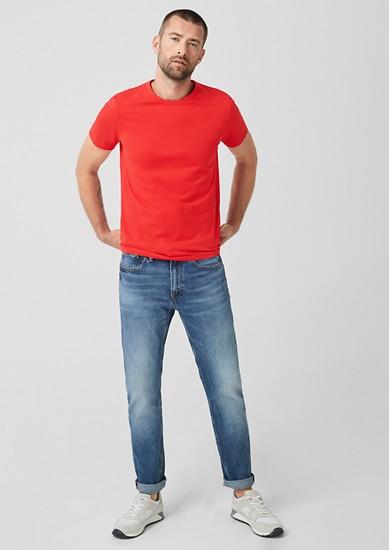 Basic shirt van katoenen jersey