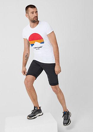 T-shirt met een print