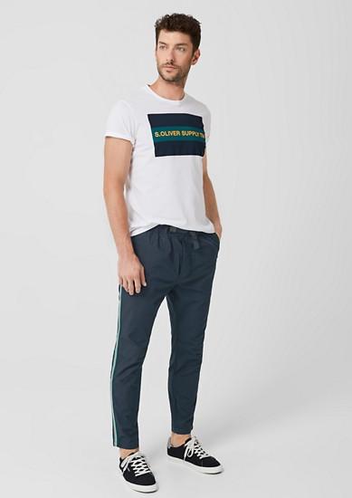 Tubx Jogger: pantalon animé de galons de s.Oliver